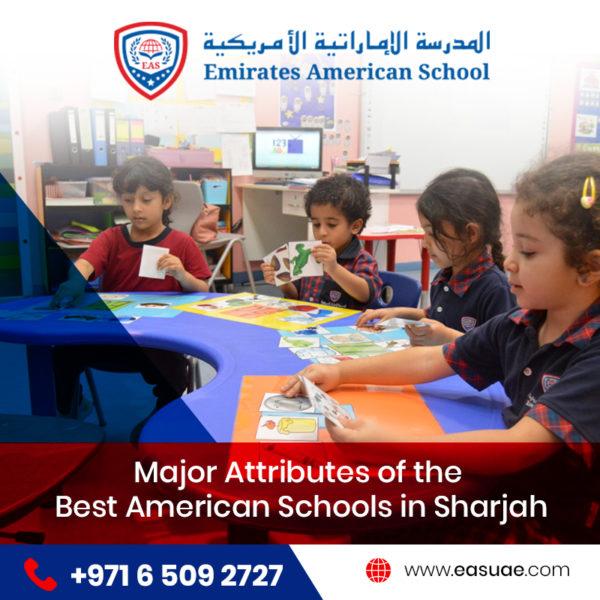 best American schools in Sharjah